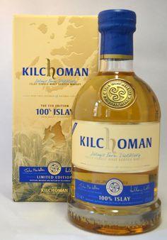 Kilchoman 100% Islay 50% Good Rum, Good Whiskey, Whiskey Drinks, Scotch Whiskey, Bar Drinks, Wine Drinks, Whisky Islay, Whiskey Quotes, Whisky Shop