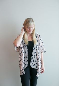 Chiffon Cake Kimono – blush birds (ships in 1 to 2 weeks) $68.00  Our new pretty kimono prints will make you swoon! Feel so feminine and put together with this simple piece. We wear ours with jeans or leggings, a tank top and have the best spring/summer outfit in a snap! Are you going away or needing something for a summer wedding? This is the thing for you! It packs so small and will complete any outfit or act as a sweet swimsuit cover up. Buttercream Clothing Chiffon Cake, Swimsuit Cover, We Wear, Summer Wedding, Summer Outfits, Kimono Top, How To Make, How To Wear, Cover Up