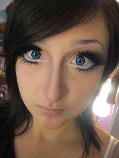 Doll eyes circle lenses