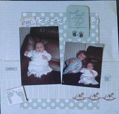 Kaisercraft Pitter Patter Baby Scrapbook, Scrapbook Layouts, Scrapbook Pages, Scrapbooking, Peek A Boos, Babies, Album, London, Digital