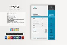 Invoice by artisanHR on @creativemarket
