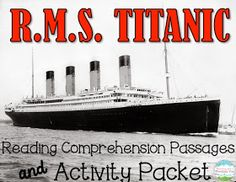 math worksheet : titanic lessons experiments activities and more!  experiment  : Famous Ocean Liner Math Worksheet Answers
