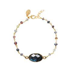 Bracelet PRECIEUSES Nilaï Paris - Labradorite - 55€ Disponible sur www.nilai.fr