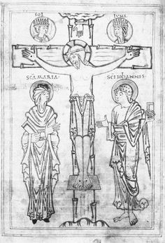 The Crucifixion - Anglo-Saxon - mid to late 11th century