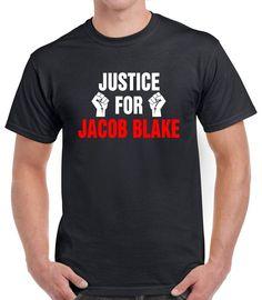 Justice For Jacob Blake Black Lives Matter T-Shirt - Ronole Store Black Lives Matter Shirt, Store, Mens Tops, T Shirt, Cotton, Life, Fashion, Supreme T Shirt, Moda