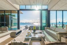 Magnificent Modern Miami Mansion With Ocean Panorama is part of Dream Living Room Mansions - Magnificent Modern Miami Mansion With Ocean Panorama from Architecture Bohemian Interior Design, Interior Design Tips, Best Interior, Miami Beach, Hotel Lobby Design, Futuristisches Design, Web Design Company, Design Ideas, Layout Design