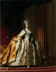 Catherine II of Russia ~Repinned Via Lorna Harrington