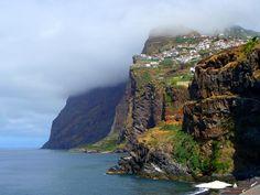 Cabo Girao outside Funchal, Madeira (Portugal)