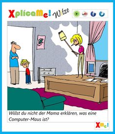 Aprendiendo alemán con buen humor en nuestra página www.facebook.com/xplicame