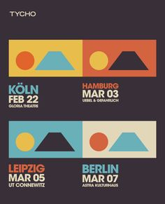 Wonderful to see the design system evolve with each location ISO50 visits while he's on tour.