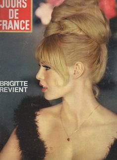 Jours DE France N° 551 Brigitte Bardot Mylene Demongeot 1965 | eBay