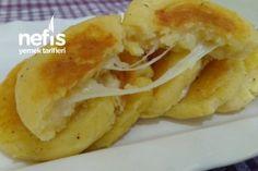Kaşar Ve Patatesin Muhteşem Uyumu (Videolu) Tarifi Easy Appetizer Recipes, Appetizers, Calamari, Homemade Beauty Products, Kfc, Bread Baking, Apple Pie, Cooking, Breakfast