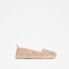 Image 1 of LEATHER ESPADRILLES WITH STARS from Zara