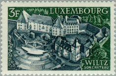Sello: Wiltz (Luxemburgo) (Tourism) Mi:LU 797,Sn:LU 484,Yt:LU 747,Sg:LU 844,Un:LU 747