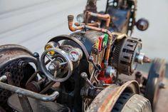 Sewing machine tractor by ferrerini mechanical art