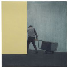tim eitel(1971- ), barrow, 2013. oil on canvas, 30 x 30 cm. galerie EIGEN+ART http://www.eigen-art.com/index.php?article_id=689=1