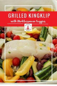 For a perfect light and low-carb meal that works well as a quick lunch or when entertaining, try this delicious grilled Kingklip recipe with Mediterranean vegetable. Fish Recipes, Low Carb Recipes, Cooking Recipes, Healthy Recipes, My Favorite Food, Favorite Recipes, Domestic Goddess, Goddesses, Grilling