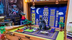 Ken Wingard | Travel Adventure Playset | Home & Family on Hallmark Channel | see also Suitcase Dollhouse