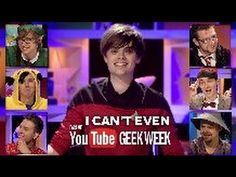 """I Can't Even: Geek week Special! This """"game show"""" was created by Youtube's Crabstickz and stars Danisnotonfire (dressed as 11!!!), Charlieissocoollike, Tomska, AmazingPhil, Jack Howard, and Ashens! This just completely made my day!!!"""
