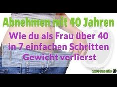Abnehmen mit 40 Jahren – Wie du als Frau über 40 in 7 einfachen Schritten Gewicht verlierst Losing weight with 40 is much harder than with Why? Is it due to the hormones? Or the metabolism? How do you still manage to lose weight in just 7 steps? Fitness Workouts, Fitness Diet, Fitness Motivation, Health Fitness, Life Video, Diets For Women, Fitness Studio, One Life, Metabolism