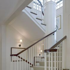 Staircase Design Traditional Homes And Traditional On Pinterest