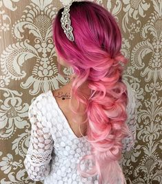 Magenta+To+Pastel+Pink+Ombre