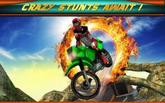 Best Games Apps For Android Mobile: Android Game Extreme Bike Stunts 3D v1.1 Apk