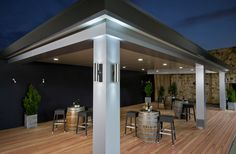 Suitable for new builds and retro-fit applications, freestanding or attached, Pavilion will assimilate with and enrich any home environment. This is so much more than just an outdoor living area, this is... alfresco living redefined.