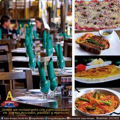 En Angus Brangus nos especializamos en gastronomía internacional. ven y disfruta de todas nuestras recetas.   Reservas: 2321632....