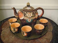 Vintage 1920s Japanese Porcelain Elephant Tea set by treschic53, $90.00