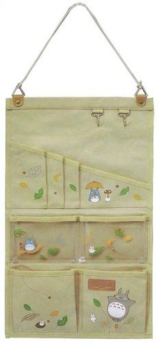 2 left - Wall Pocket - Container - Totoro - Ensky - Ghibli - no production (new)
