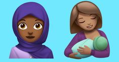 New Apple emoji include Woman With Headscarf, Breastfeeding, Zombie, and more http://mashable.com/2017/07/17/apple-new-emoji-world-emoji-day/?utm_campaign=crowdfire&utm_content=crowdfire&utm_medium=social&utm_source=pinterest
