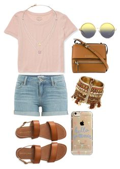 """""""Casual Day"""" by clarisaguerra-243 on Polyvore featuring moda, Aéropostale, Paige Denim, Givenchy, Michael Kors, Agent 18 y Matthew Williamson"""