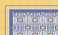 Contermporary Cuban tile floor