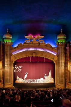 Auckland's amazing art deco Civic Theatre - one of only a handful of atmospheric theatres left in the world #Auckland