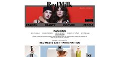 Ming's interview with Red Milk Magazine! Thanks! (AW13)