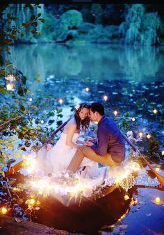 Kiss the girl wedding photography