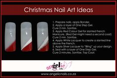 Christmas ideas for your nails Gel Nails, Manicure, Nail Polish, Christmas Nail Art, Christmas Ideas, You Nailed It, Red Color, Nailart, The Cure