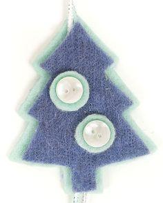 Anleitung: weihnachtliche Filzgirlande basteln | buttinette Blog