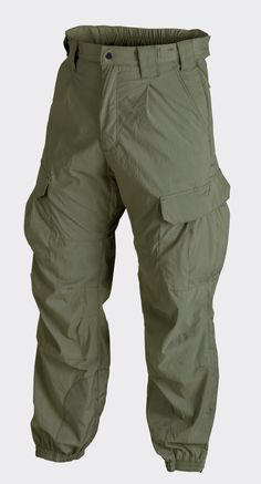 5d0c39203e59 Helikon Level 5 Ver.II Trousers - Soft Shell - Olive Green Mens Combat  Trousers