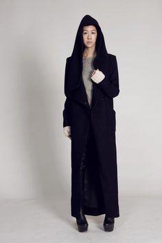 Nomad long Coat. via The Cools