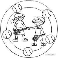 Sport Mandalas