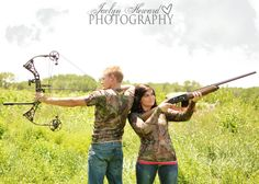 Hunting themed photo shoot ideas. Jaclyn Heward Photography