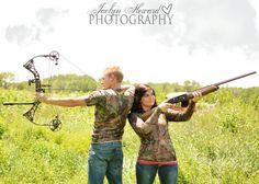 Hunting themed photo shoot ideas. Jaclyn Heward Photography