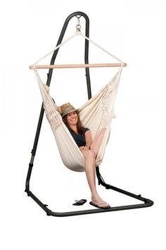 sunnydaze space today saving stand wood free garden chair hanging with home sturdy hammock overstock swing product shipping