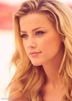 Amber Heard, so beautiful. Based the girl on my half sleeve off her face