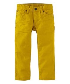 Look at this Brass Daytripper Twill Pants - Toddler & Boys on #zulily today!