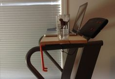 Sit, Stand, Walk - The Evolution of a Desk Jockey - Panoptic Development Diy Standing Desk, Treadmill Desk, Evolution, Woodworking, Study, Exercise, Health, Fitness, Modern