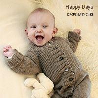 Knitted jumper with round yoke, multi-coloured Norwegian pattern and A-shape. Baby Knitting Patterns, Crochet Dinosaur Patterns, Diy Crochet Patterns, Free Crochet, Drops Design, Knitting Socks, Free Knitting, Bunny Drop, Granny Square Slippers