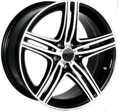 121 meilleures images du tableau jantes de r ve cool cars nice  19 zcw zm1 gloss black polished face alloy wheels for 5 studs wheel fitment in 8 5